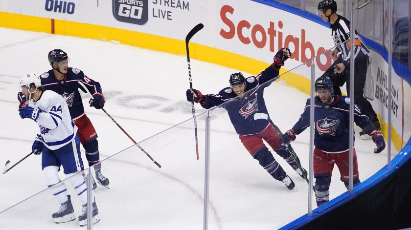 Blue Jackets Maple Leafs Stream 2020 Nhl Stanley Cup Qualifiers