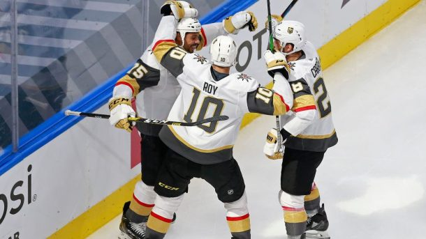 Golden Knights win West top first seed; Avalanche finish second NHL playoffs round robin standings update