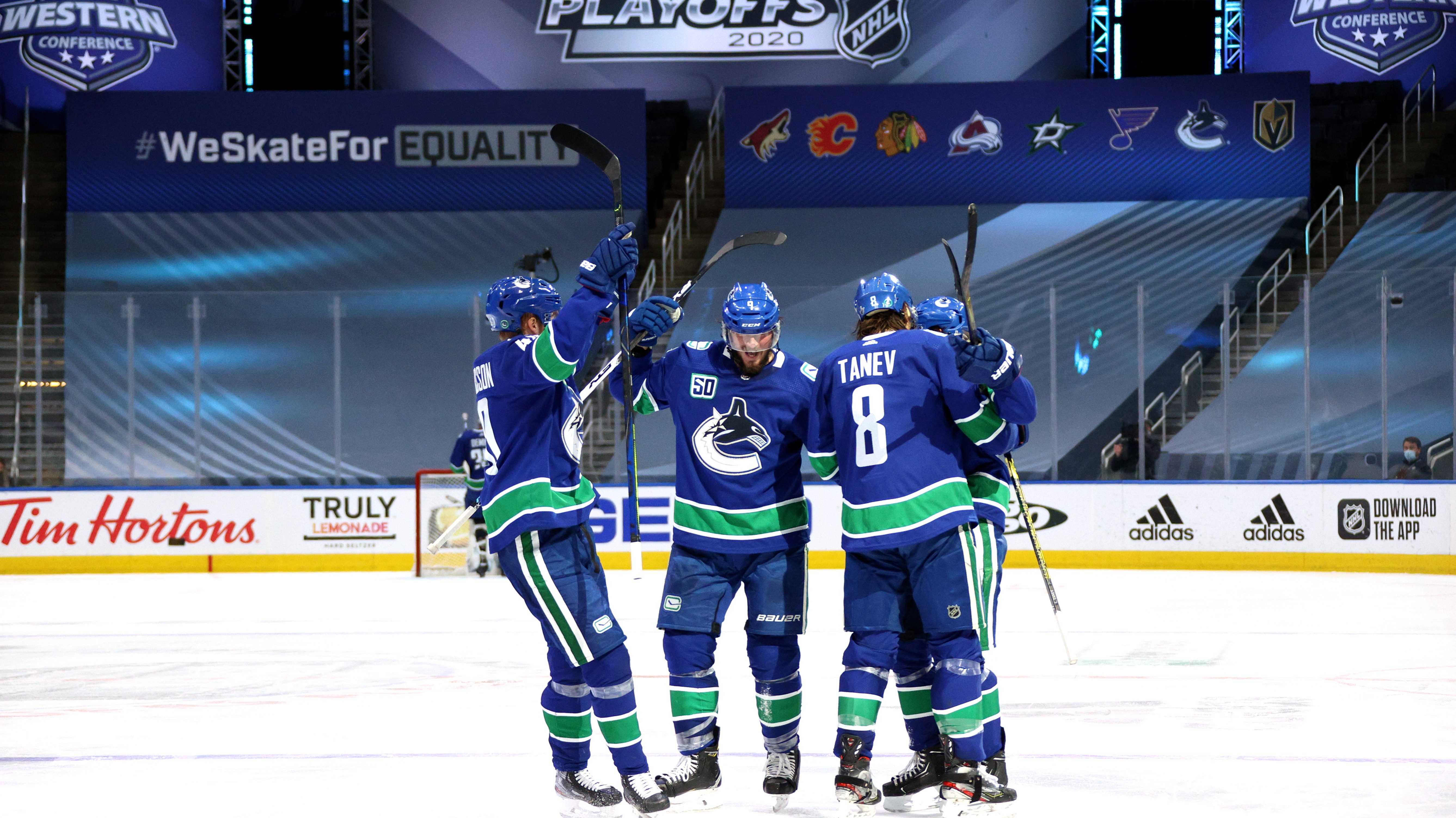 Canucks Golden Knights Stream 2020 Nhl Stanley Cup Second Round