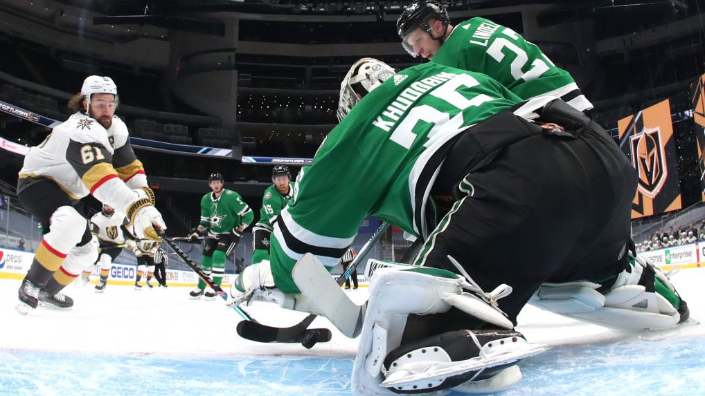 NHL Bubble Wrap: Khudobin bounces back in big way for Stars in Game 3