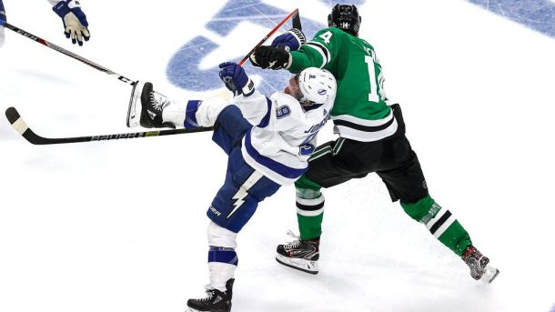 3 Takeaways: Lightning beat Stars in Game 4 of 2020 Stanley Cup Final Benn penalty