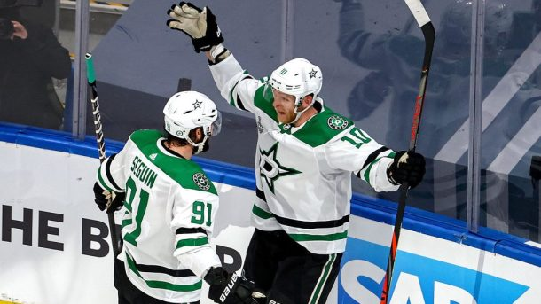 Stars Lightning Game 5 Dallas avoids elimination in OT overtime Corey Perry