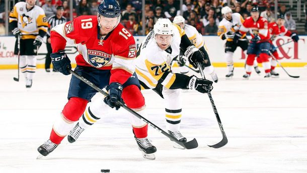 Trade Penguins Panthers Hornqvist Matheson