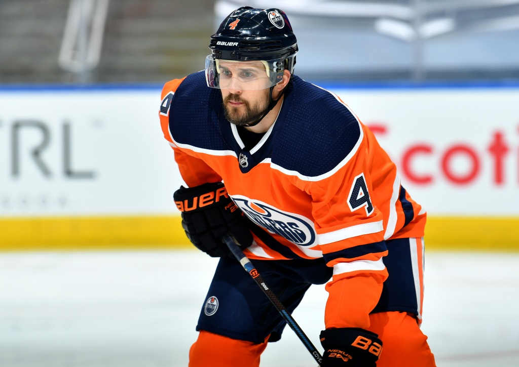 Examining Oilers' offseason progress after Kris Russell contract extension