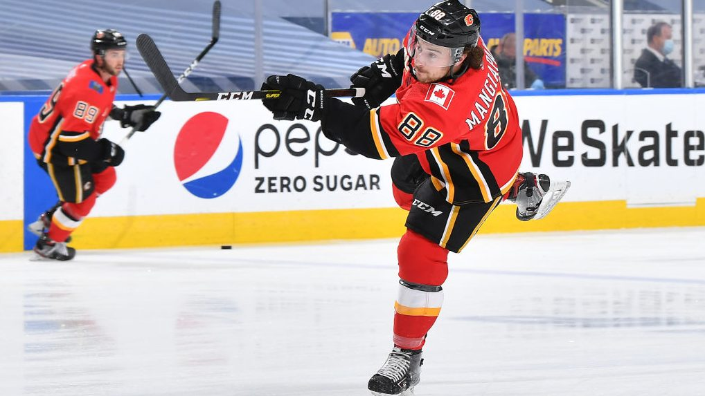 Mangiapane's two-year deal a reminder of Flames' fork in the road