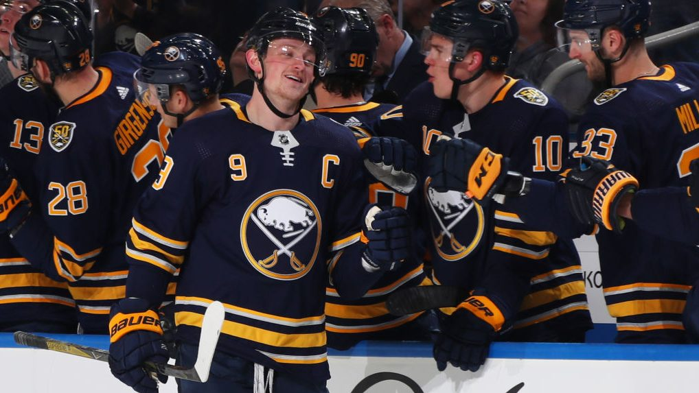 Sounds like Jack Eichel is happy with Sabres' offseason