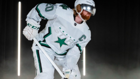 Dallas Stars uniform
