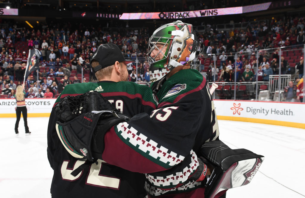 Arizona Coyotes 2020-21 NHL season preview Kuemper Raanta