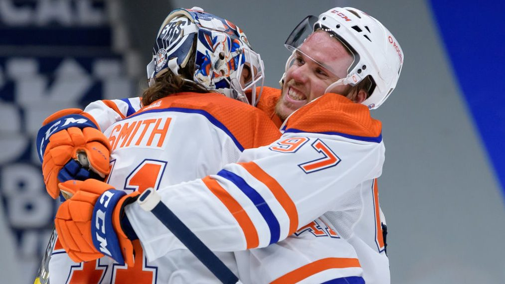 Mike Smith Sam Gagner The Buzzer Thursday in the NHL