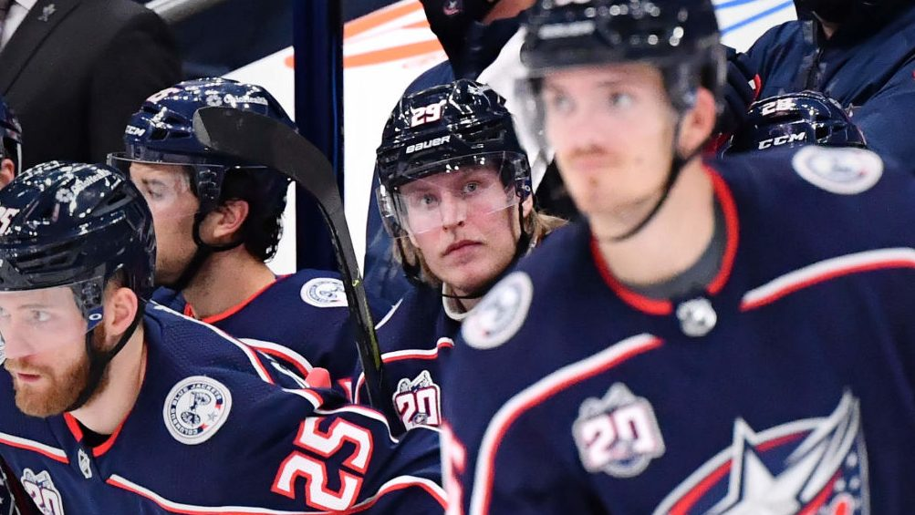 Blown lead, another Laine benching: Tough times for Blue Jackets, Torts