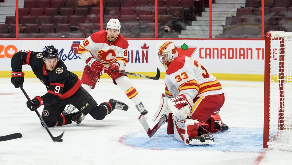 Even warm-ups went wrong in Flames' latest embarrassing loss to Senators