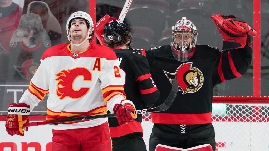 The Buzzer: Gustavsson, Sens burn Flames as goalies dominate NHL on Monday