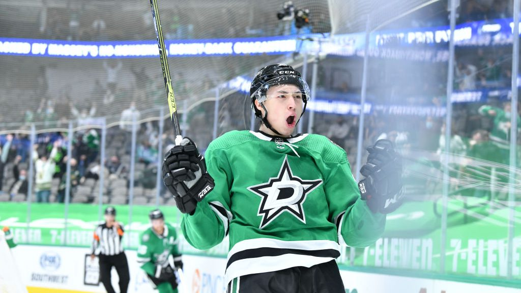 Stars' Jason Robertson is climbing up the Calder Trophy ranks