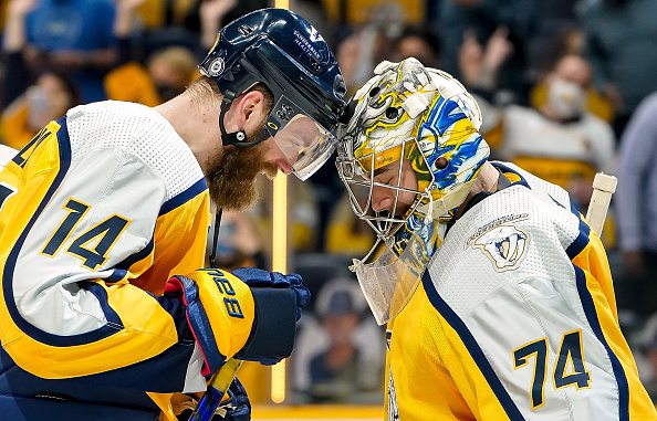 NHL on NBCSN: Do Predators have playoff upset potential? Ekholm Saros