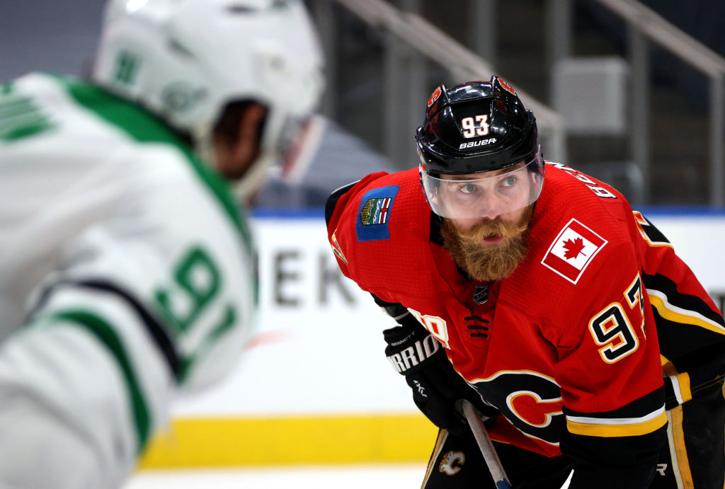 Bennett playoffs with Flames before Panthers trade