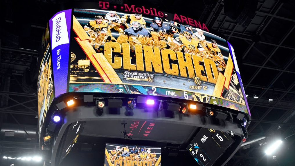 The Buzzer: Golden Knights first to clinch, more from Wednesday in NHL