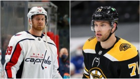 NHL on NBC: Hall, Mantha off to hot starts for Bruins, Capitals