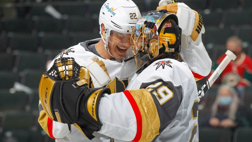 NHL Playoff Buzzer: Fleury shines on lopsided Saturday of action