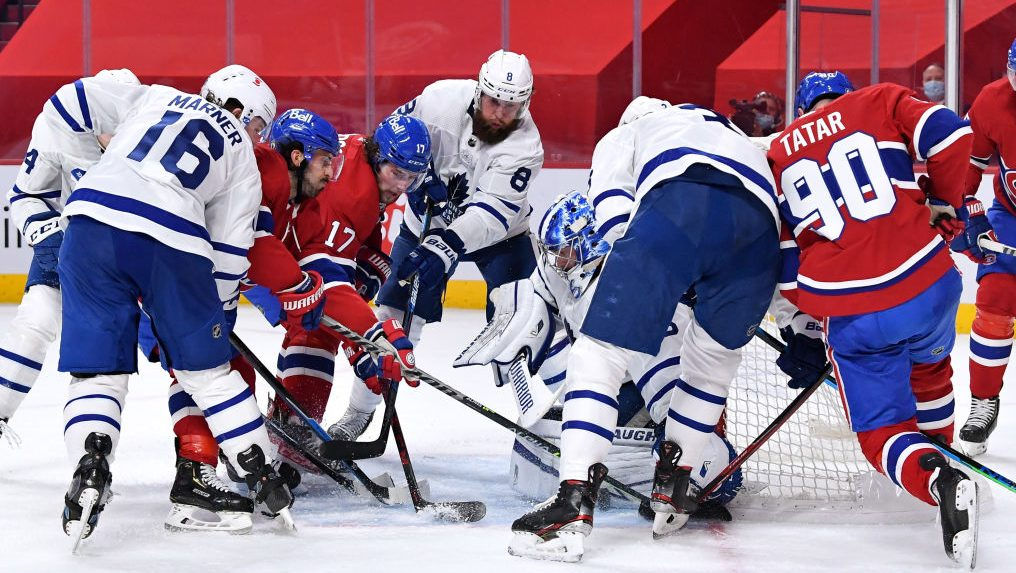Can Canadiens score some 'greasy goals' vs. Maple Leafs in Game 5?