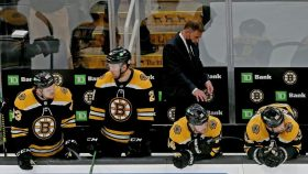 Bruins' Cassidy grumbles about Islanders' edge in Game 5 penalties