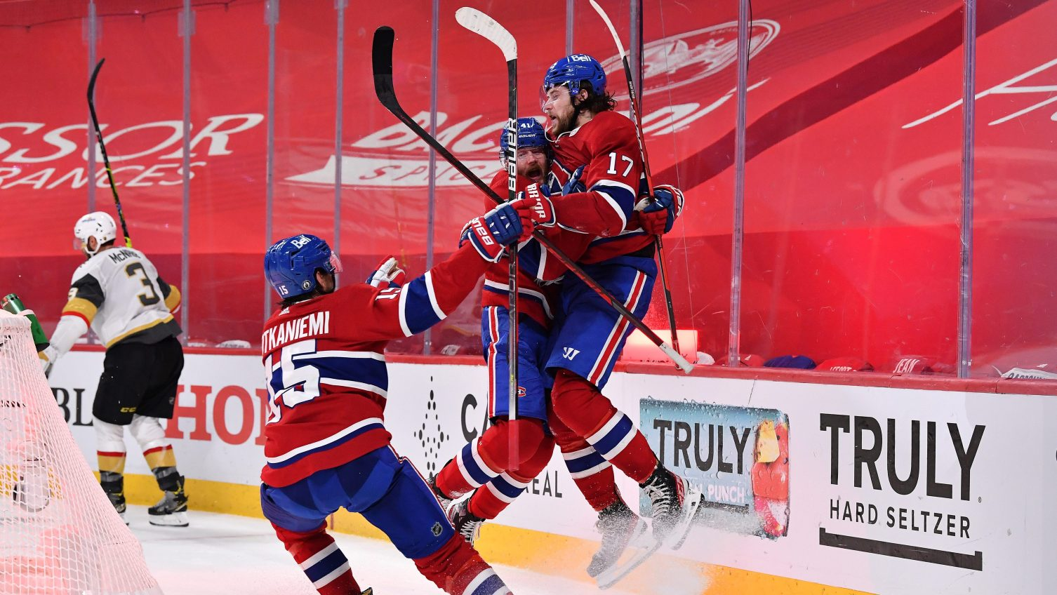 Josh Anderson sends Canadiens to stunning series lead over Golden Knights