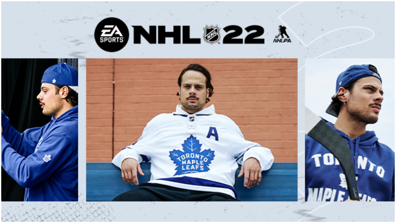 NHL 22: Trailer, Matthews on cover, release date, and more