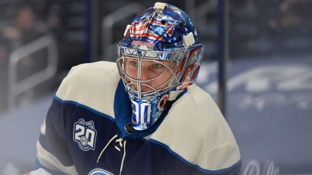 Blue Jackets bet on Elvis Merzlikins with five-year extension
