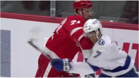 Dylan Larkin suspended one game for roughing Mathieu Joseph